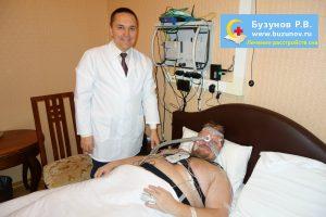 Сомнолог Роман Бузунов и пациент Центра медицины сна