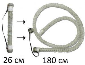 Рис 12 Складная трубка для СИПАП