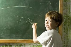 В день святого Томаса каждый ученик, войдя в класс, пишет на доске свое имя