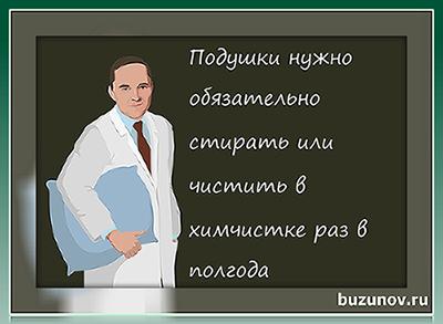 Роман Бузунов, как стирать подушки, стирают ли подушки