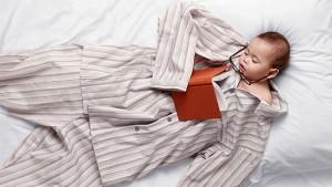 Детская пижама должна быть только из натуральных, мягких тканей