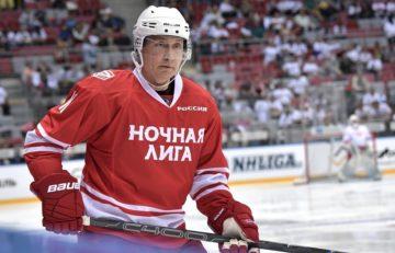 Путин хоккей, недосыпание